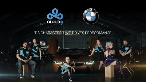 League of Legends : Cloud9 s'associe avec BMW