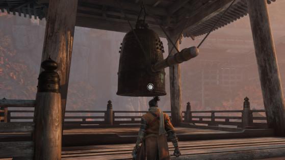 Guide Sekiro : Sonner la cloche démoniaque, demon bell, bonus, difficulté
