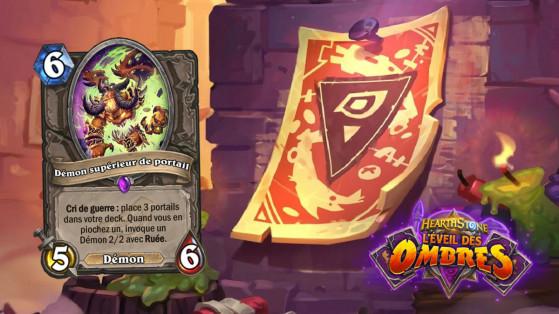 Hearthstone L'Eveil des Ombres : Démon supérieur (Portal Overfiend)