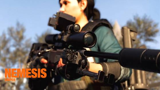 Guide The Division 2, arme exotique : Sniper Nemesis, Adrestia