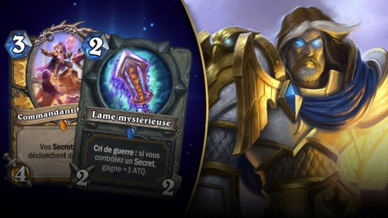 Hearthstone : deck Paladin Secrets L'Eveil des Ombres (Rise of Shadows)