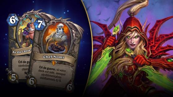 Hearthstone : deck Voleur Nomi L'Eveil des Ombres (Rise of Shadows)
