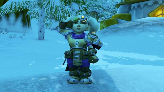 WoW 8.2 : Armure ancestrale de Gnomeregan, Gnome