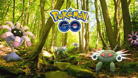 Pokemon GO : événement semaine Aventure, Onix, Anorith et Lilia shiny !