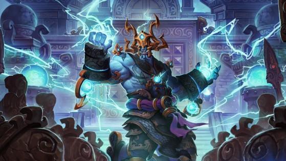 Hearthstone : nouveau héros Chaman Roi Tonnerre, Lei Shen du Masters Bundle