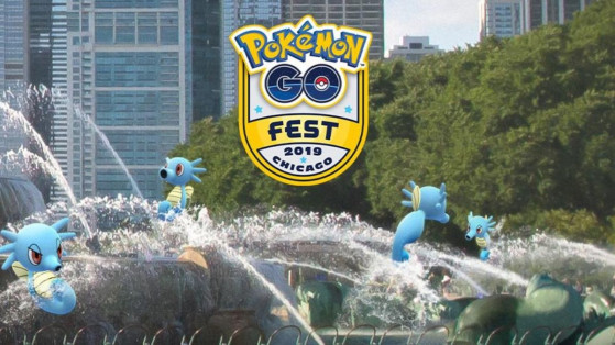Pokemon GO : Hypotrempe shiny, événement GO Fest Chicago
