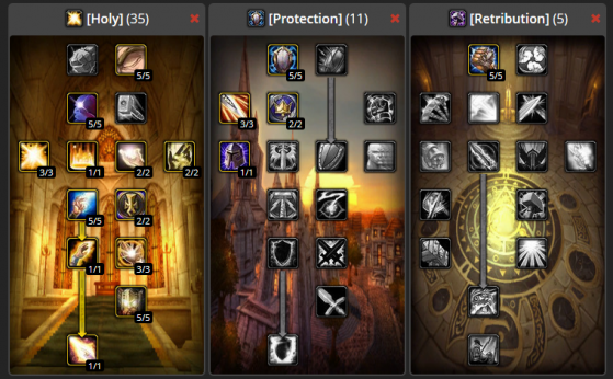 Build Standard PvE 35/11/5 - WoW : Classic