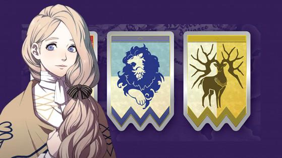 Fire Emblem Three houses : Mercedes von Martlitz, élève, infos