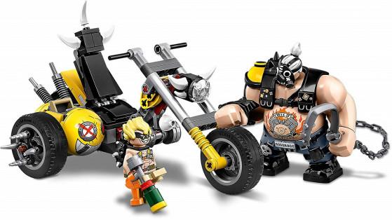 Overwatch : nouveaux LEGO Bouldozer, Chopper et Chacal sur Amazon UK