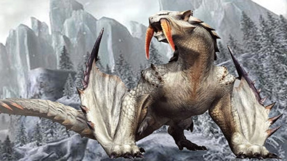 Monster Hunter World Iceborne : Barioth, monstre