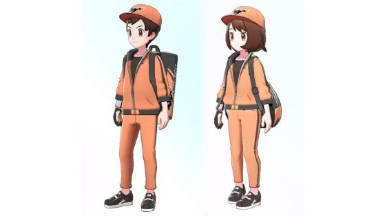 Pokemon Epée Bouclier : Tenue offerte avec la précommande du jeu