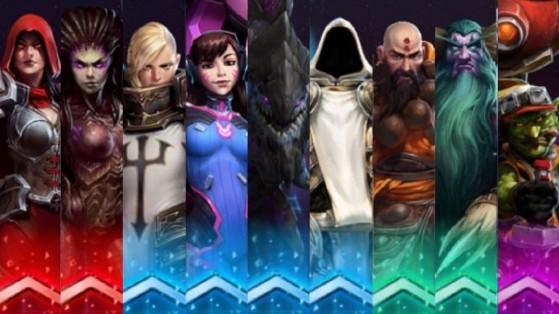 Heroes of the Storm, HotS : Rotation des Héros gratuits 16-07-2019