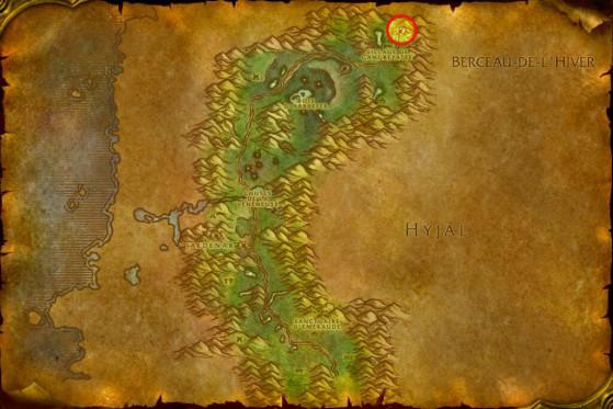 Localisation de Nafien - WoW : Classic