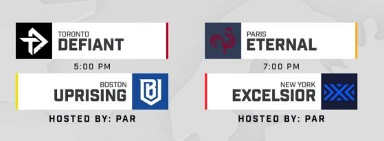 Calendrier Dofus 2020.Overwatch League 2020 Calendrier Devoile Paris