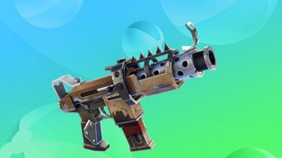 Fortnite : le pistolet mitrailleur tactique de retour