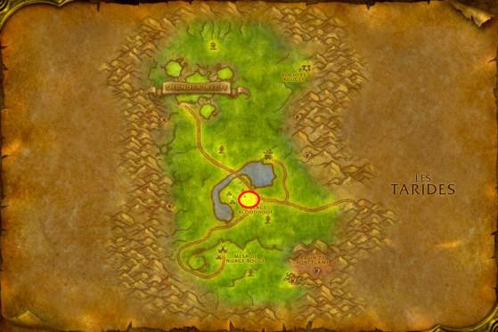 Localisation de Krang Stonehoof - WoW : Classic