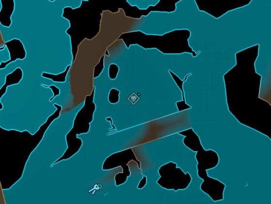 L'icône (validée) sur votre carte - Borderlands 3