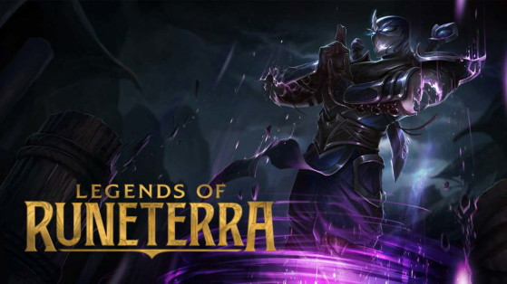 LoR - Legends of Runeterra : Shen, champion faction Ionia