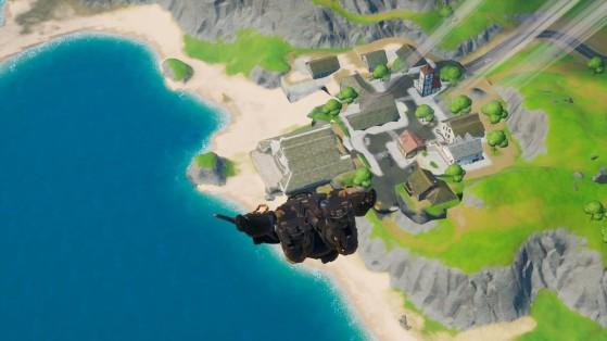 Fortnite : Atterrir à Craggy Cliffs, Salty Springs et Dirty Docks, défis saison 11