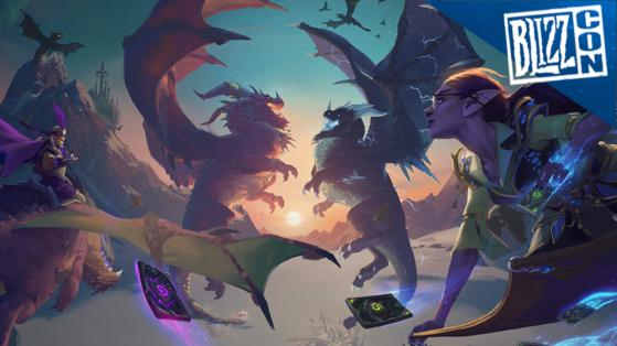 Hearthstone : précommande L'envol des Dragons (Descents of Dragons)