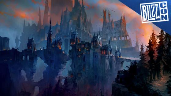 WoW : Captures d'écran et Artworks de Shadowlands