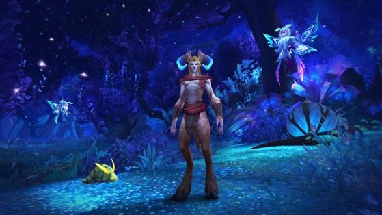 Une fäe nocturne à Sylvarden - World of Warcraft