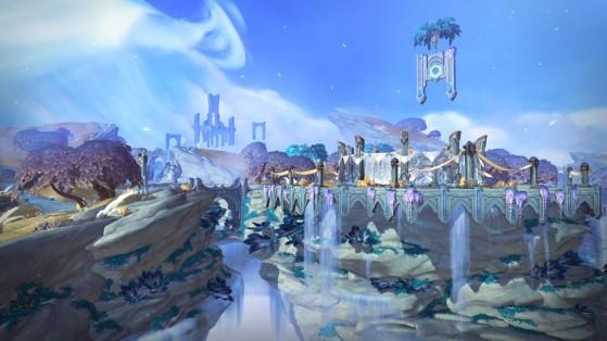 Bastion, citée des Kyrians - World of Warcraft