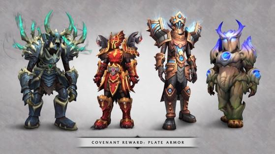 Récompenses en plaques des congrégations - World of Warcraft