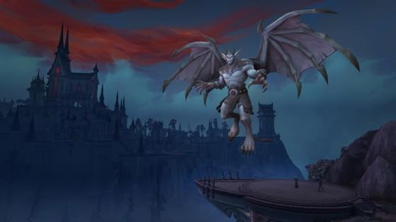 Un Venthyr à Ravendreth - World of Warcraft