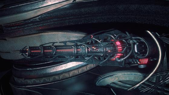 Star Citizen : Arme Vanduul  S2 Laser Autocannon