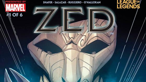 LoL : Zed recevra sa BD Marvel x Riot Games