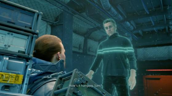 Geoff vous parlera sans arrêt de Ludens. - Death Stranding