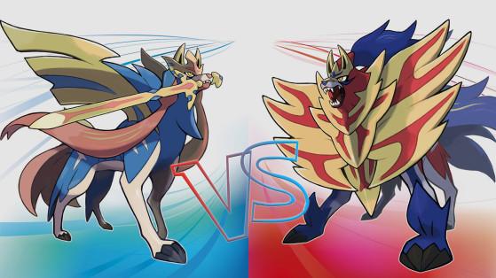 Pokemon Epee, Pokemon Bouclier : les différences entre les versions