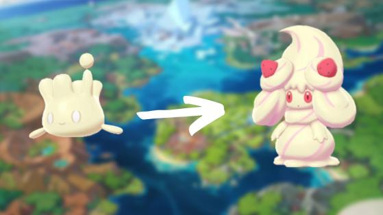 Pokemon Epee, Pokemon Bouclier : comment faire évoluer Crémy en toutes les formes de Charmilly ?