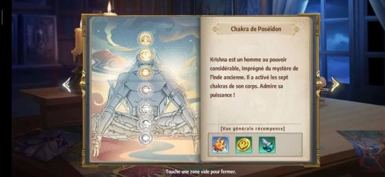 Les chakras - Saint Seiya Awakening