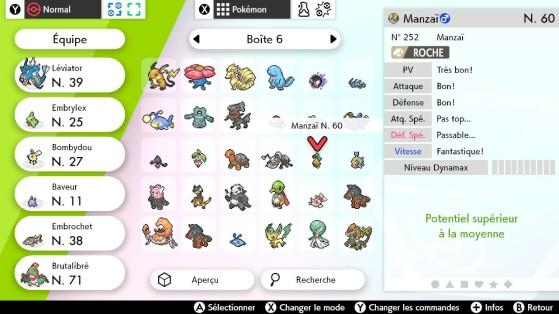 Un Manzaî avec des statistiques disparates - Pokémon Épée et Bouclier
