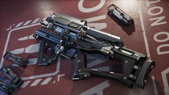 Star Citizen : Armes FPS : Custodian SMG