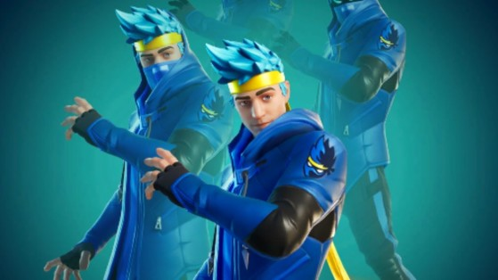 Fortnite : le skin de Ninja disponible à la date du 16 janvier