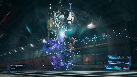 Whirling Uppercut - Final Fantasy 7 Remake