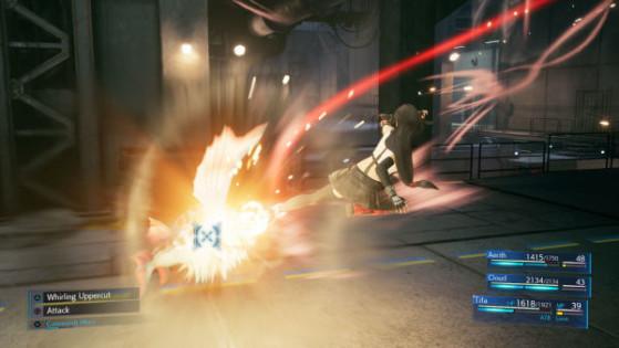 Dive Kick - Final Fantasy 7 Remake