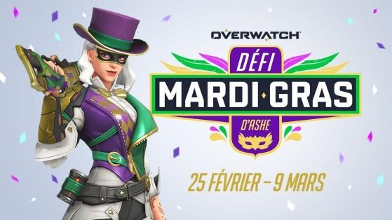 Overwatch : défi Ashe Mardi Gras