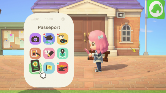 Animal Crossing New Horizons : liste des applications du Nookphone