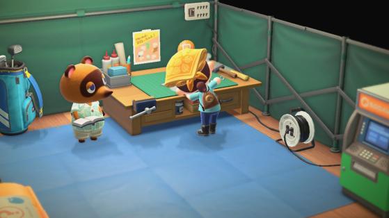 Animal Crossing New Horizons : les outils renforcés, comment les obtenir ?