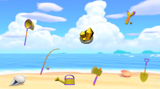 Animal Crossing New Horizons : comment obtenir les outils en or ?