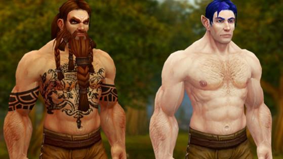 WoW : Idées d'options de personnalisation des races pour Shadowlands