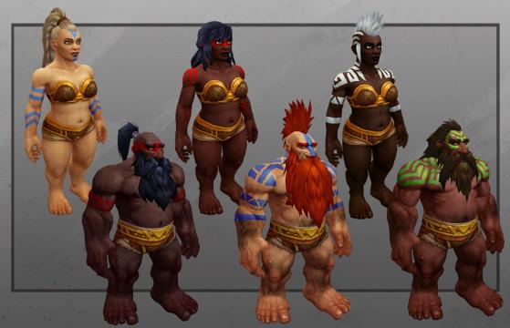 Aperçu officiel des Nains lors de la BlizzCon 2019 - World of Warcraft