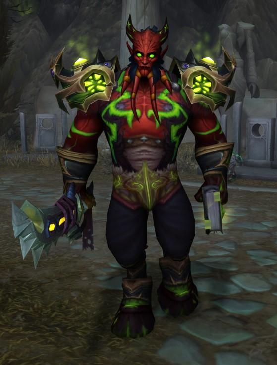 Un Érédar - World of Warcraft