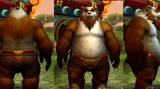 Le Pandaren mâle actuellement - World of Warcraft
