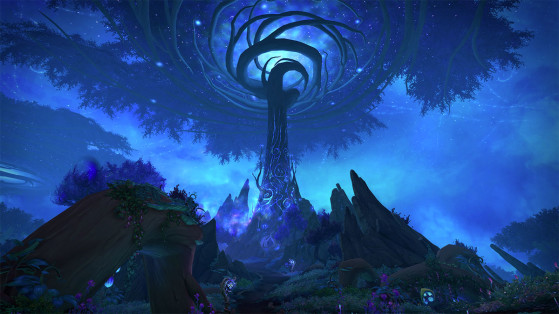 WoW : Sylvarden, Zone Shadowlands