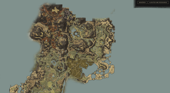 Zone nord d'Aeternum - New World